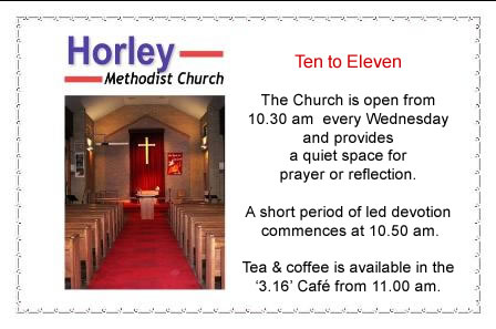 Horley Methodist Ten To Eleven Programme