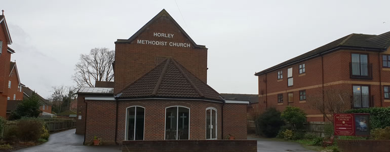 Horley Methodist Church Boards