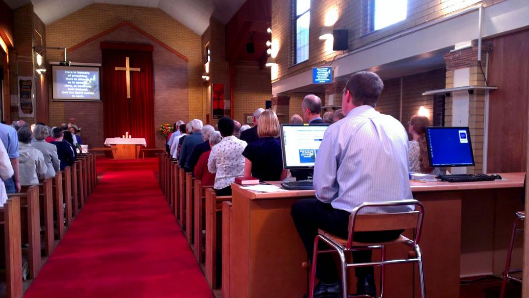 Church Service at Horley Methodist Church